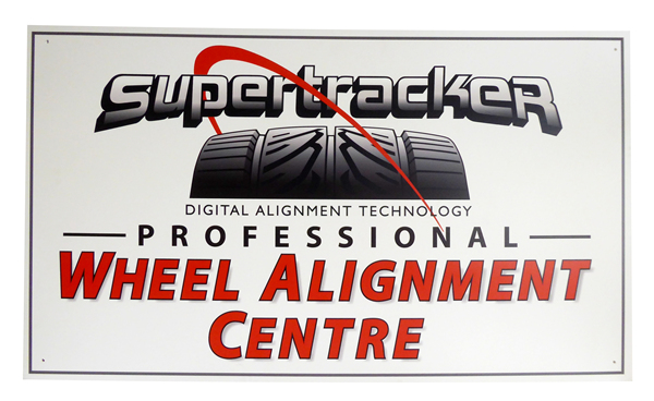 (SS)_Professional_Wheel_Alignment_Sign